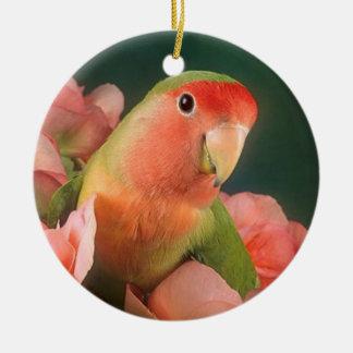 Love bird Christmas ornament