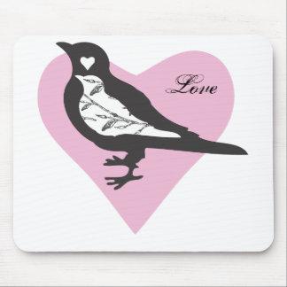 Love Bird Mouse Pad