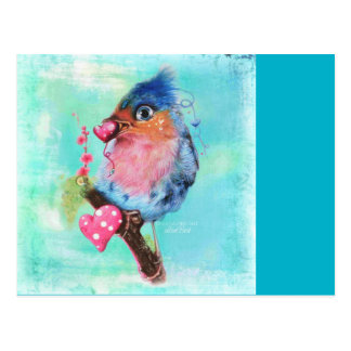 """Love Bird"" Postcard ©Sheena Pike"
