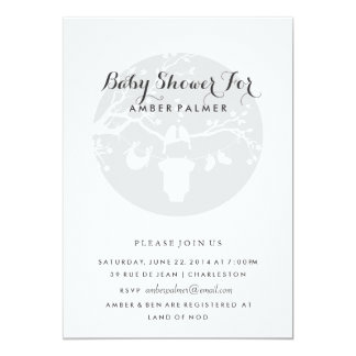 Love Birds Baby Shower Invitation