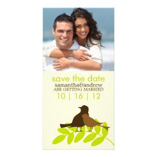 Love Birds Custom Photo Wedding Announcements Personalized Photo Card