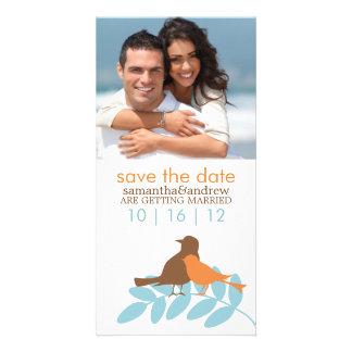 Love Birds Custom Photo Wedding Announcements Photo Card