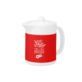 Love Birds - Double Happiness - Tea Pot