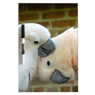 Love Birds Dry Erase Board