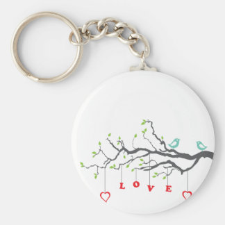Love Birds Key Ring