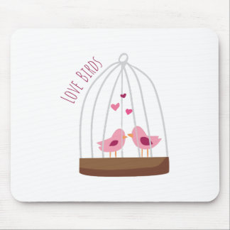 Love Birds Mouse Pads
