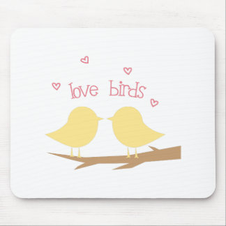 Love Birds Mouse Pad
