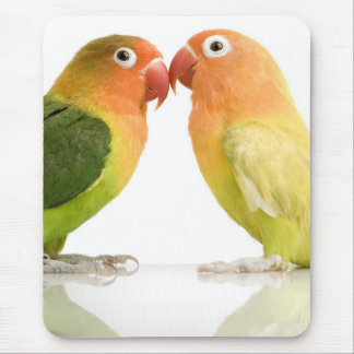 Love Birds Mouspad. Mouse Pad
