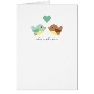 Love Birds Note Cards