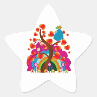 Love Birds Stickers