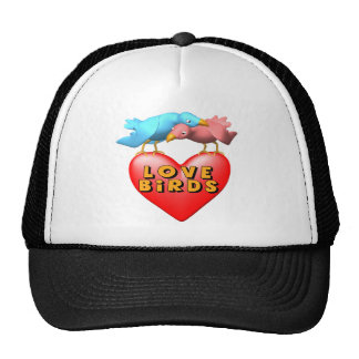 Love Birds T-shirts and Gifts Trucker Hat