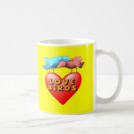 Love Birds T-shirts and Gifts Mug