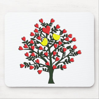 Love Birds Theme Mouse Pads