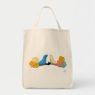 Love Birds Tote Canvas Bag