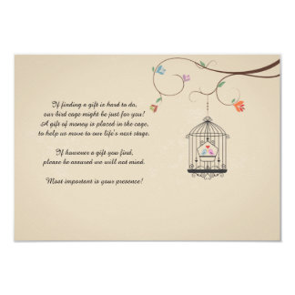 Love Birds Wishing Bird Cage Cards