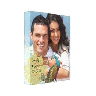 Love Birds Your Photo Wrapped Canvas Gallery Wrapped Canvas