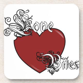 Love Bites Beverage Coaster