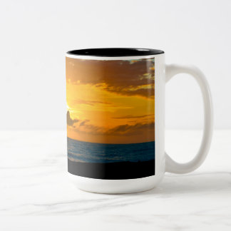 Love Black 15 oz Two-Tone Mug
