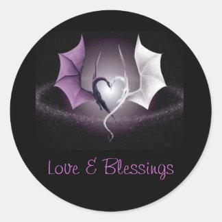 Love & Blessings Sticker