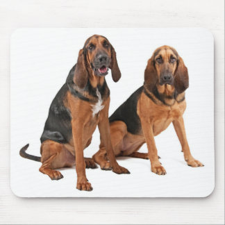 Love Bloodhound Puppy Dog Mousepad