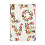 LOVE Blooms Colourful Spring Flowers iPad Mini