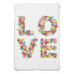 LOVE Blooms Colourful Spring Flowers iPad Mini Case For The iPad Mini