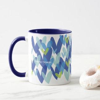 Love Blue Java mug