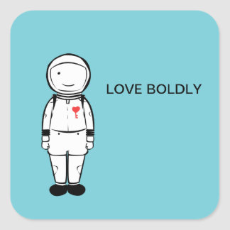 Love Boldly Stickers