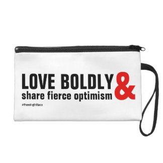 Love Boldly Wristlet by Beth Wellesley