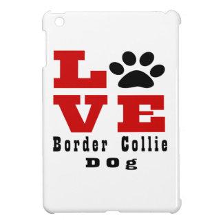 Love Border Collie Dog Designes Case For The iPad Mini
