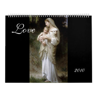 Love, Bouguereau 2010 Calendar