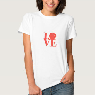 """""""Love"""" Bowling Tee by League Champ Bowling"""
