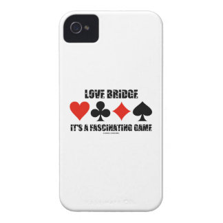 Love Bridge It s A Fascinating Game Card Suits iPhone 4 Case-Mate Cases