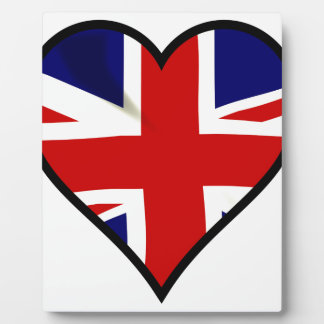 Love Britain Display Plaque