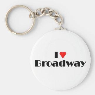 Love Broadway Key Ring