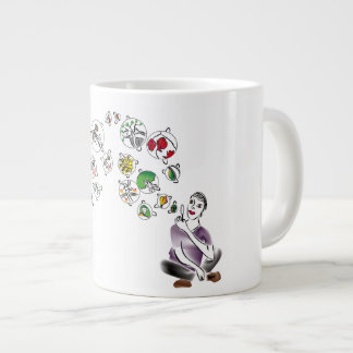 Love Bubbles Large Coffee Mug
