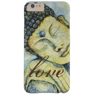 Love Buddha Watercolor Art iPhone Case