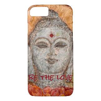 Love Buddha Watercolor Art Phone Case