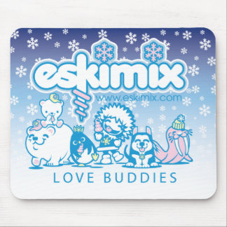 Love Buddies Mouse Pad