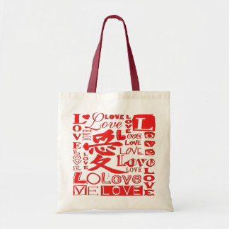 Love - Budget Tote Bags