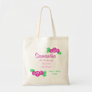 Love Buds/ Customizable Tote Bag