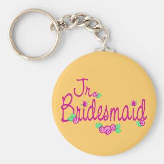 Love Buds/Wedding Basic Round Button Key Ring