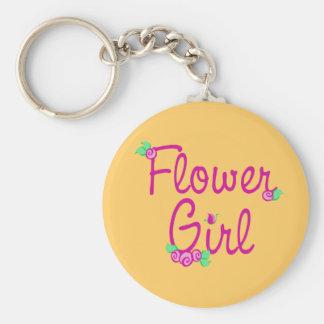 Love Buds/ Wedding Basic Round Button Key Ring