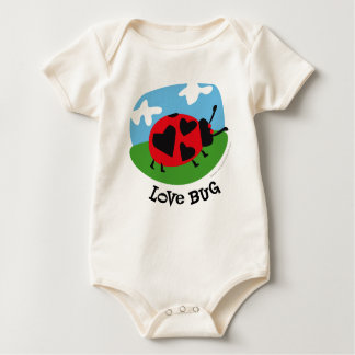 Love Bug Baby Baby Bodysuit
