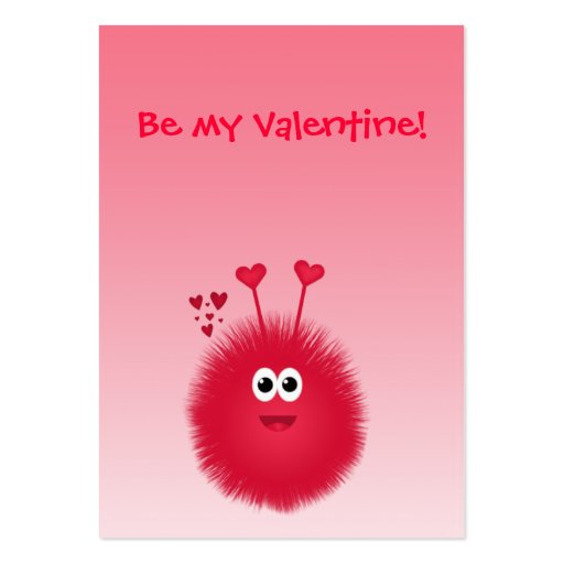 Love Bug Kids' Valentine's Day Cards Business Card