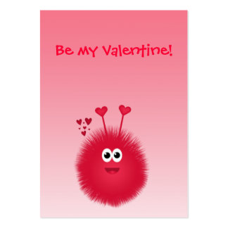 Love Bug Kids' Valentine's Day Cards Pack Of Chubby Business Cards