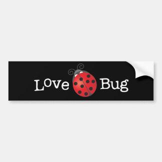 Love Bug - Ladybug Bumper Sticker