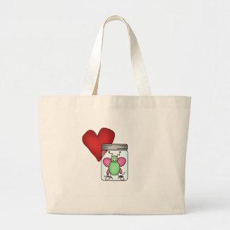 Love Bug Large Tote Bag