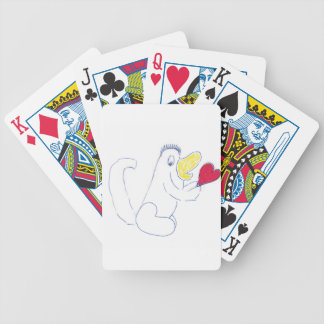 Love Bug Playing Cards