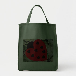 Love Bug Grocery Tote Bag